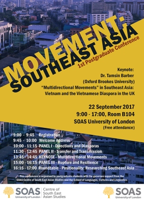 MOVEMENT: SOUTHEAST ASIA 22 SEPTEMBRE 2017