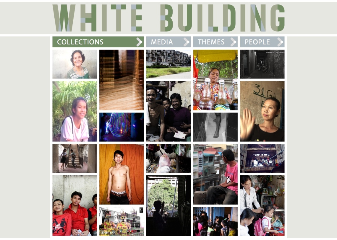 White Building